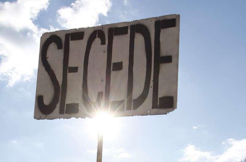 Secession sign
