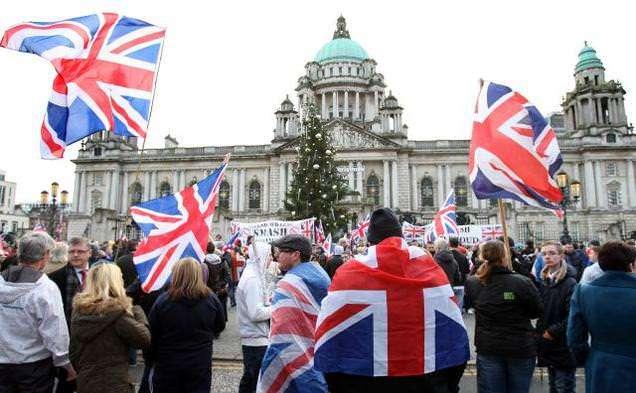 Belfast rioters