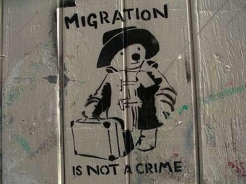 Graffiti of Paddington Bear