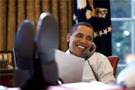 Honey I'm laughing ALL the time! ||| Pete Souza, Whitehouse.gov
