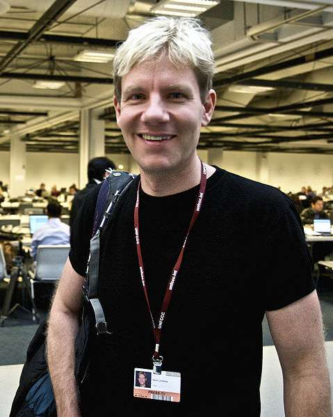 Bjorn Lomborg at a conference