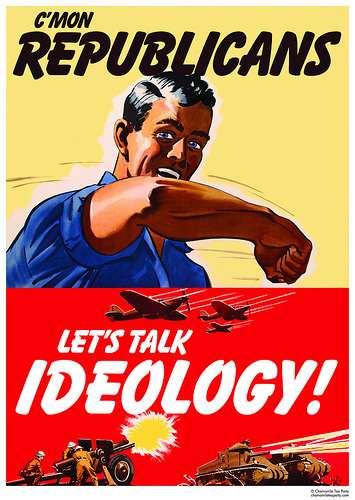 C\'mon Republicans, Let\'s Talk Ideology!