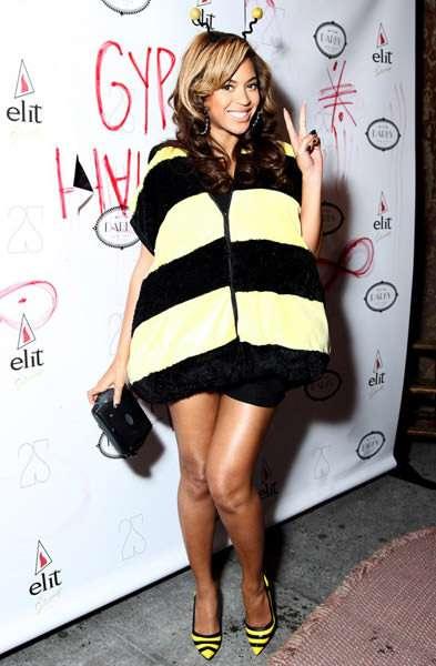 beyonce dressed like a bee