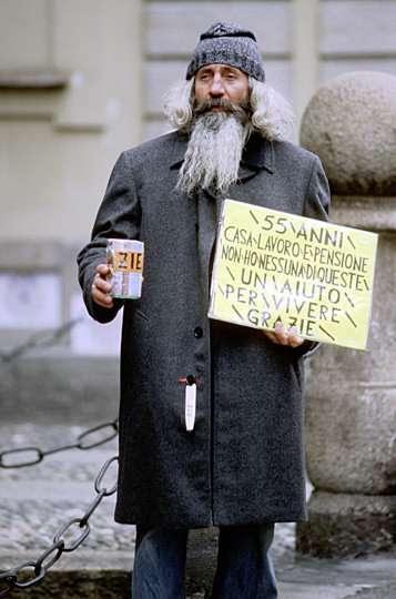 Italian beggar