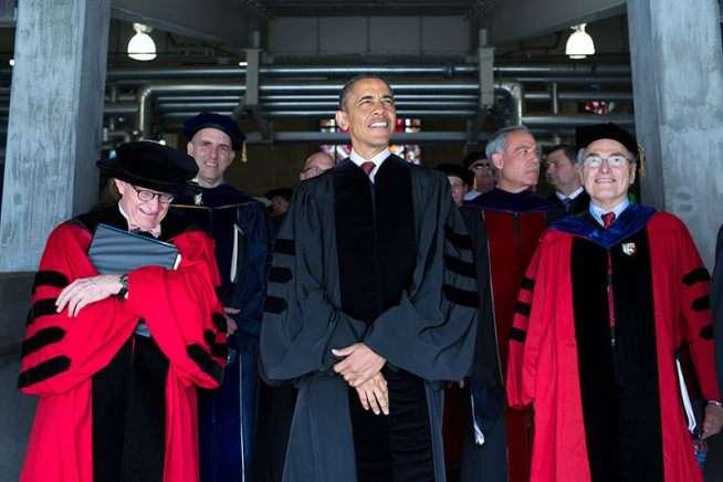 President Obama at Ohio State University
