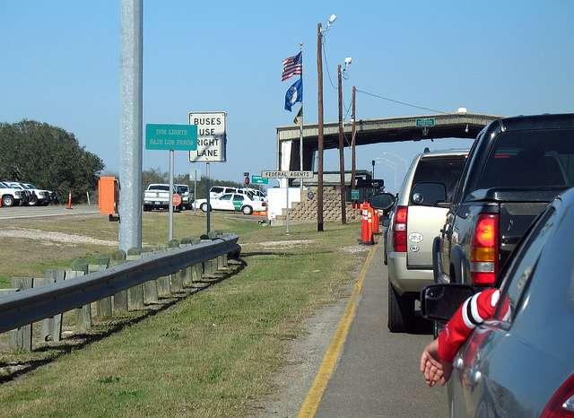 Border Patrol checkpoint