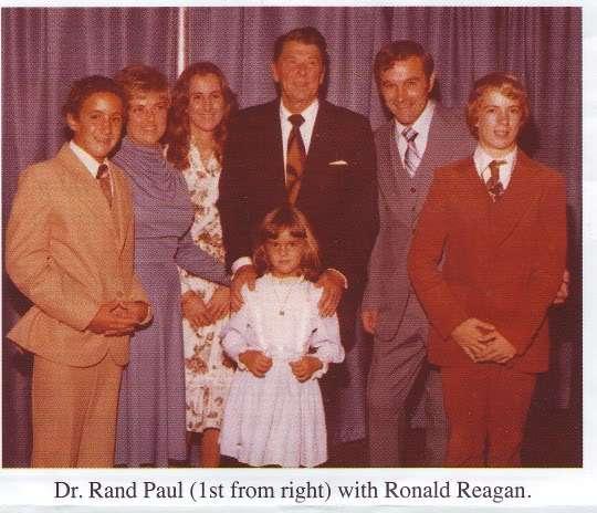 Where Rand Paul and Ronald Reagan meet. |||