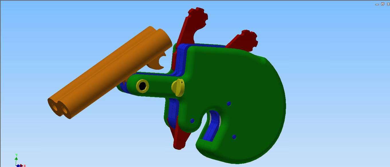 3D printable derringer