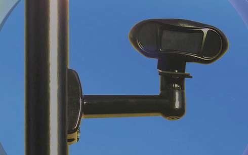 License-plate scanner
