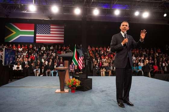 Obama Johannesburg