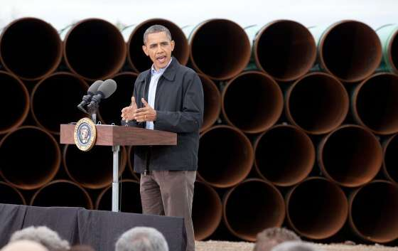 This time, America, we're going to put LIDS on those barrels! ||| Pete Souza/White House