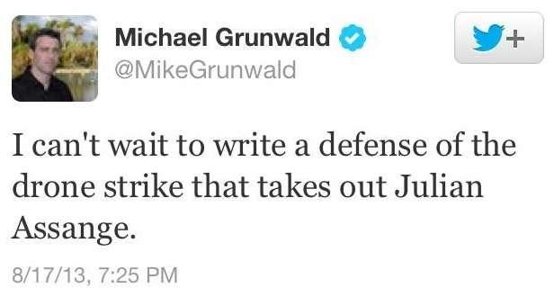 Michael Grunwald being an ass