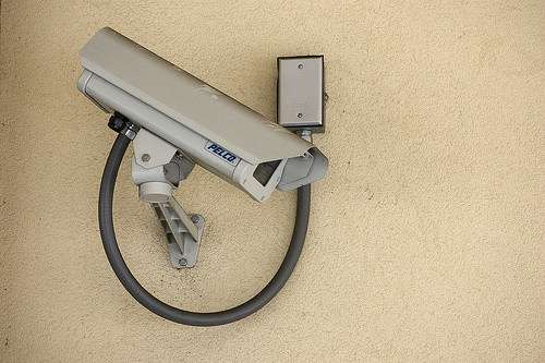Security cameras to protect people from police? What a novel idea!