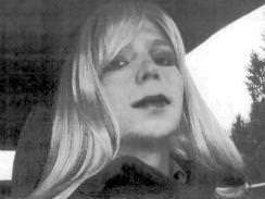 This picture of Bradley Manning, now Chelsea Manning, dressed as a woman was shown at Manning's trial.