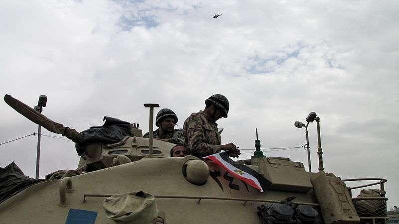 Egyptian tank