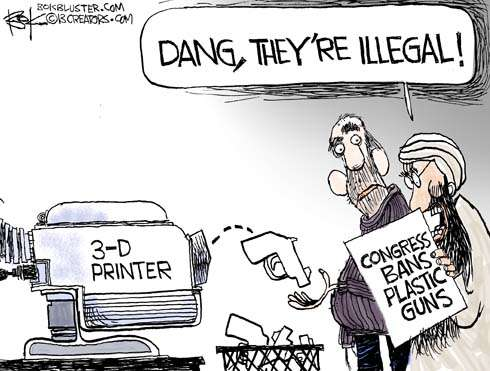 Banning plastic guns