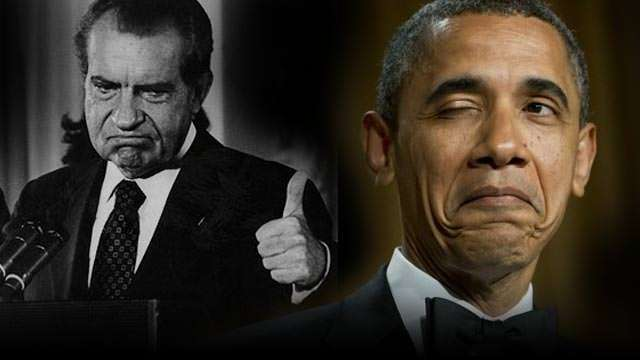 There's a lot of bad Nixon/Obama art out there. ||| SayAnythingBlog.com