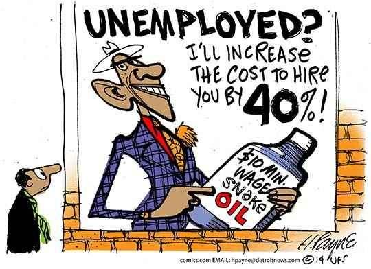Obama and the minimum wage