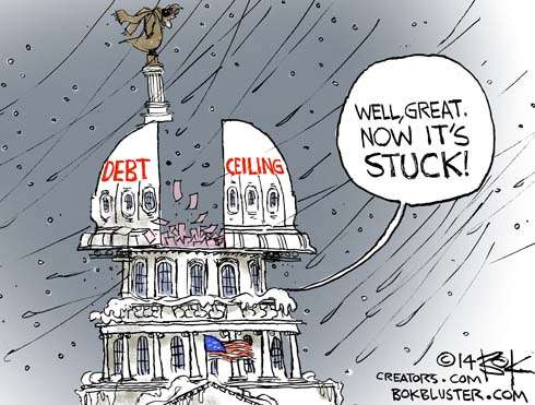 Stuck debt ceiling