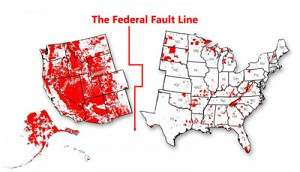 Federal control of land