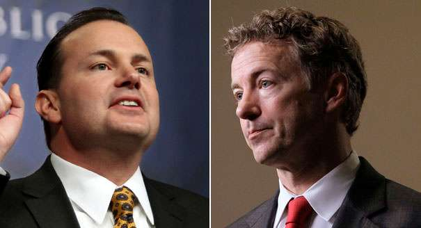 One of these two senators wants to cut military spending. |||