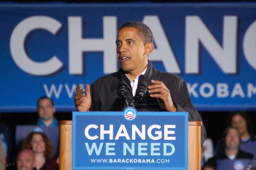 Will we stop using Obama's campaign motto ironically or sarcastically for once?