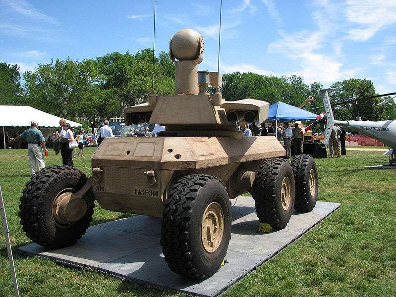 Armed Robotic Vehicle