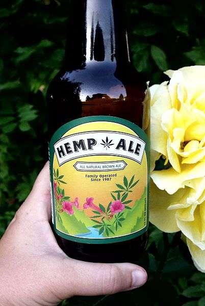 Hemp beer