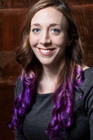 Purple hair, purple hair. |||