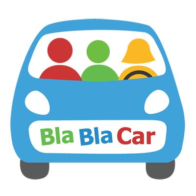 a logo for BlaBlaCar
