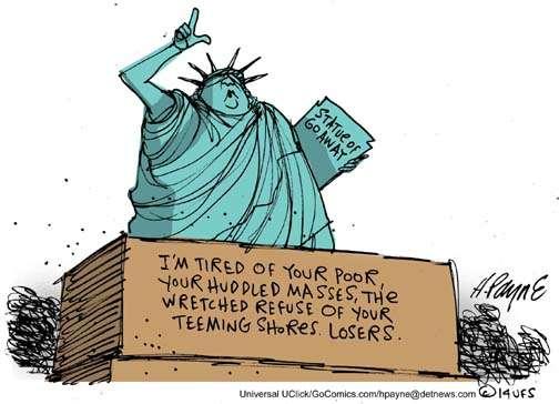 Statue of Go Away