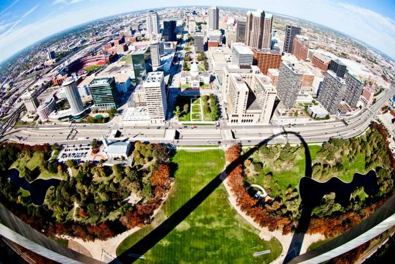 Downtown St. Louis, an area many St. Louis residents probably don't recognize.