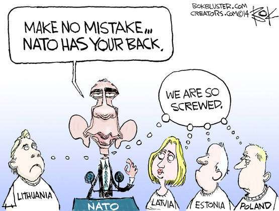 NATO has your back