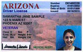 Arizona driver's license