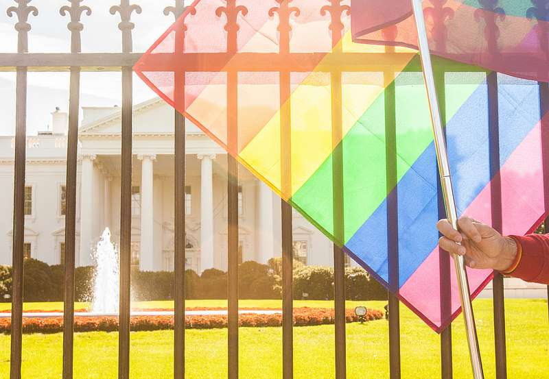 Making sure gays are not left out of incredibly wasteful spending projects.