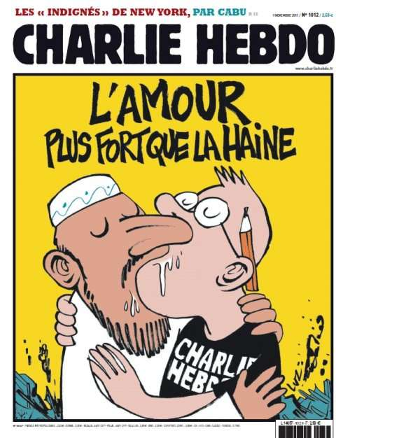Je suis Charlie'? No, You're Not, or Else You Might Be Dead
