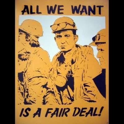 All we want is a fair speechwriter. |||