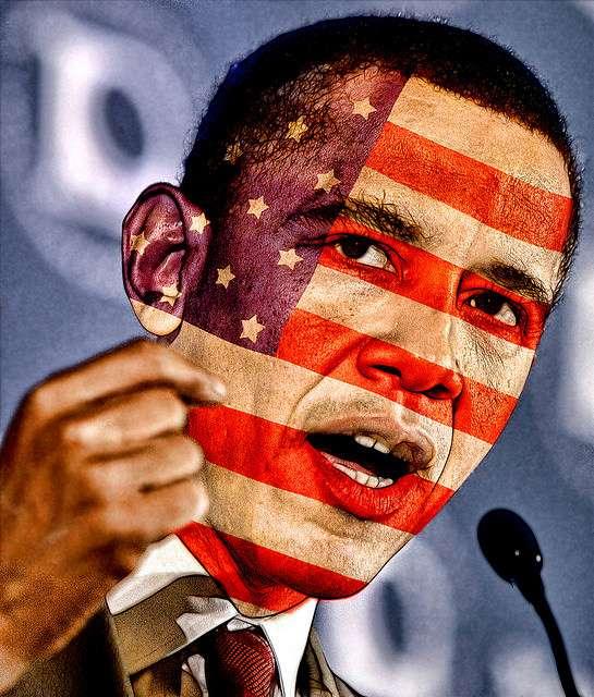 Obama.Face.Flag