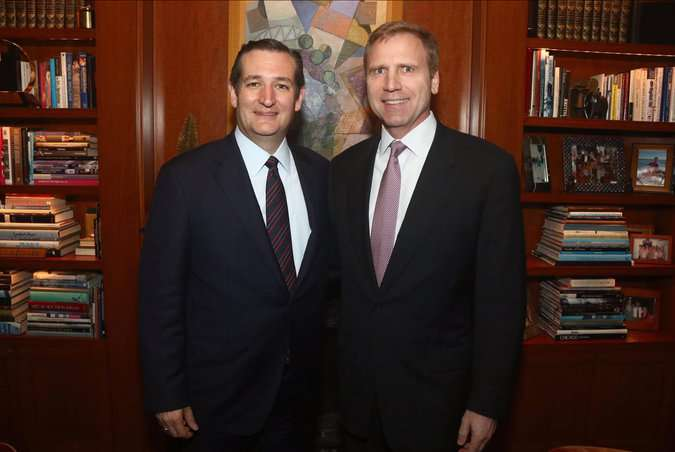 Ted Cruz stands next to a gay person, which for some reason has gay people angry, not religious conservatives.
