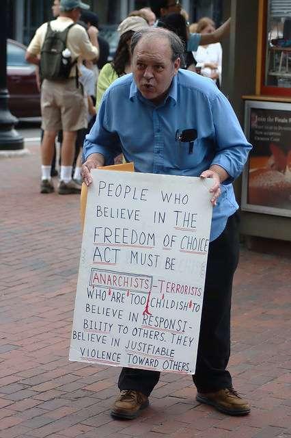 Anti-Abortion Man