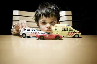 Boy and his Cars