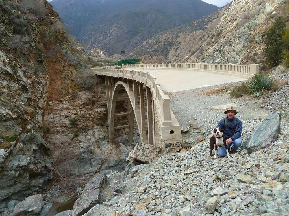 The original Bridge to Nowhere. ||| Yelp