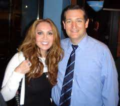 Ted Cruz and his civil liberties consultant. ||| PamelaGellar.com