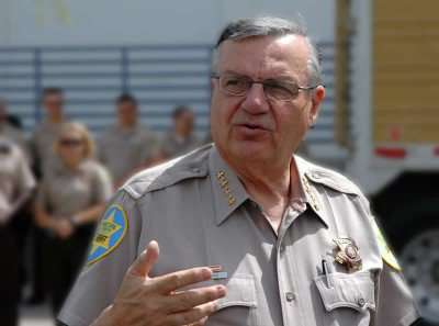 Thanks for writing our platform, Mr. Arpaio! |||