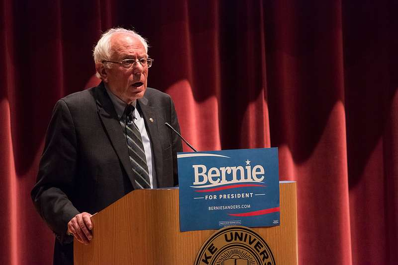 A trade deal? Time for Bernie to sound just like Trump.