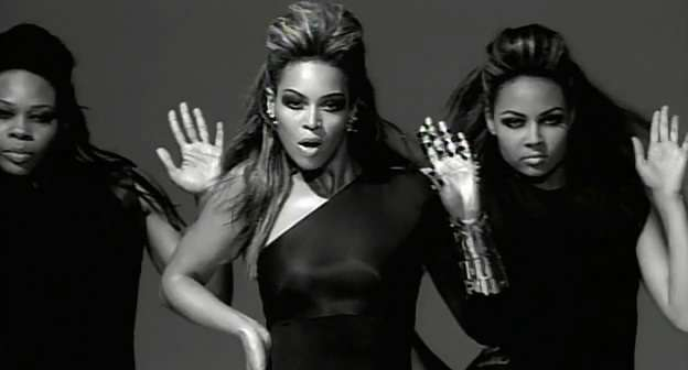 I still contend this video makes it look like Beyonce has married Dr. Doom.