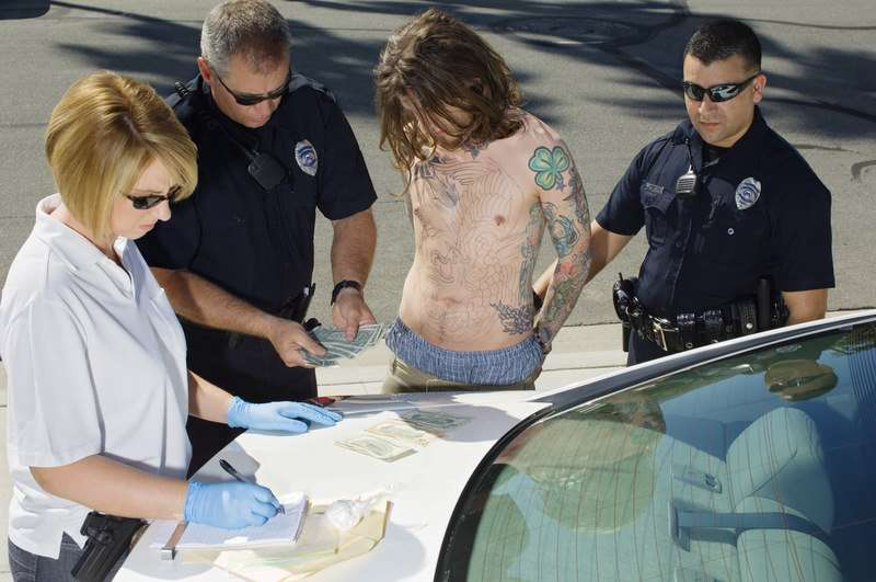 """If """"Cops"""" has taught us anything, driving without a shirt on is proof of criminal activity."""