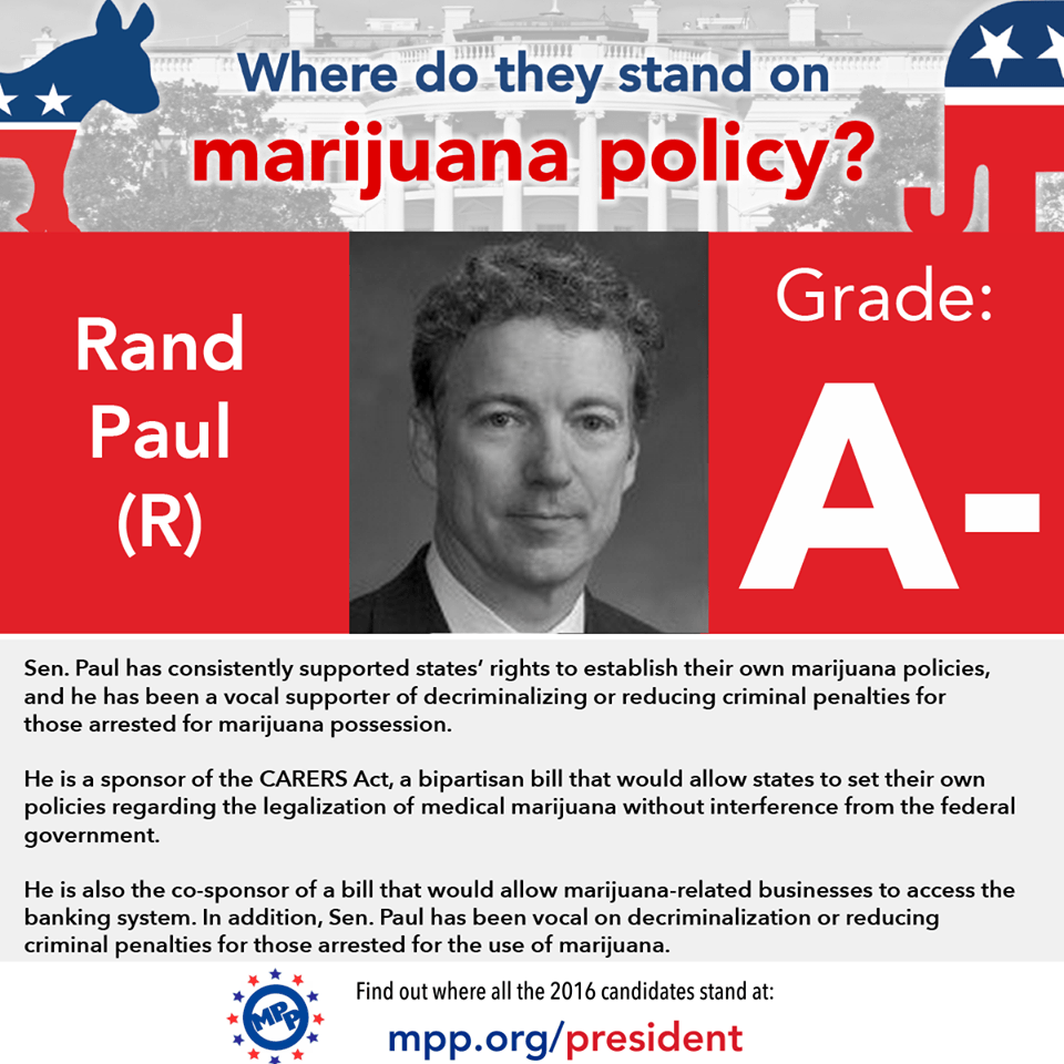Still room to get your grades up! ||| Marijuana Policy Project