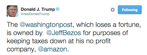 What ELSE do Donald Trump and Mother Jones have in common??? ||| Twitter