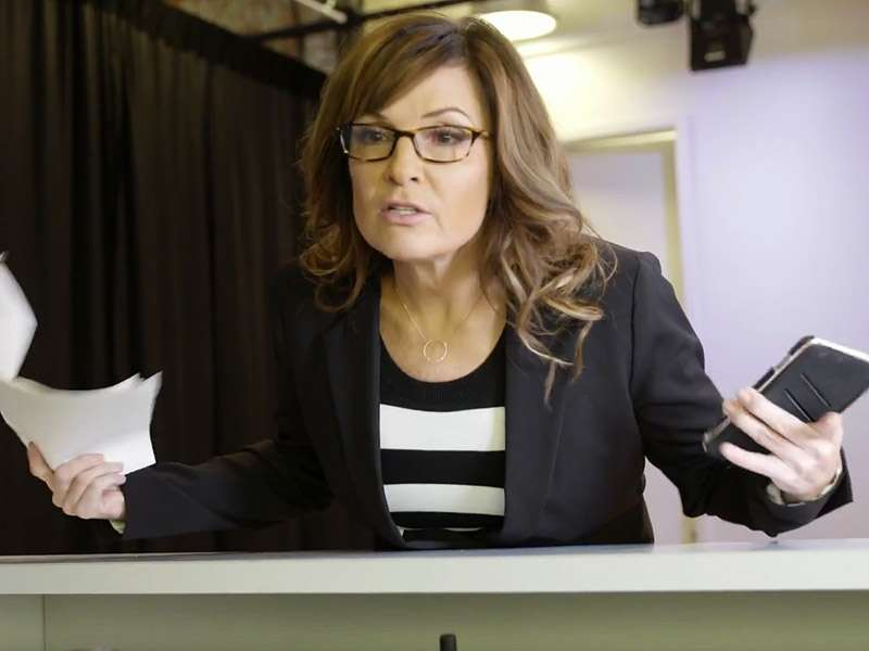 Yes, Sarah Palin recently did a Tina Fey impersonation. ||| YouTube